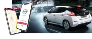Nuova app Nissan Charge