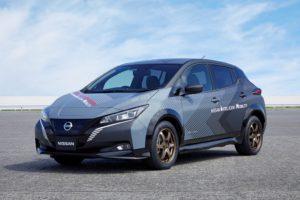 prototipo di veicolo elettrico Nissan