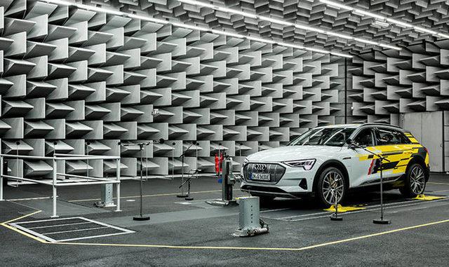 Audi dà voce all'auto elettrica