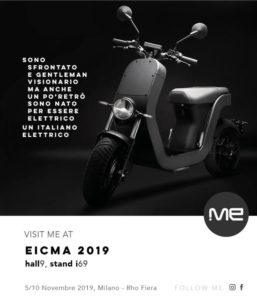 ME Scooter Elettrico all'EICMA 2019