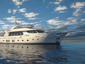 Yacht ibrido CCN Siemens Marine