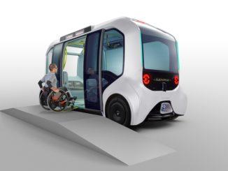 """Toyota e-Palette """"Versione Tokyo 2020"""""""