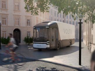 Concept HGV di Volta Trucks