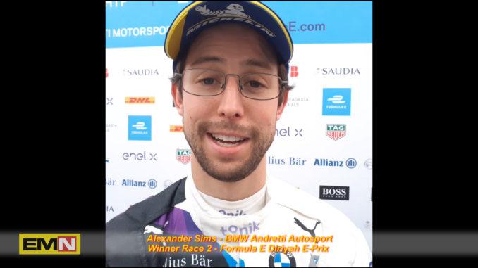 Alex Sims Formula E Diriyah