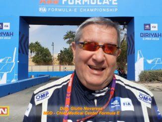 Formula E Giulio Novaresi