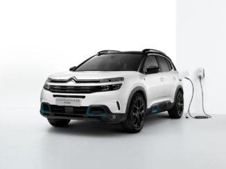 Citroën Nuovo SUV C5 Aircross Hybrid