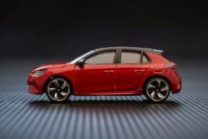 Nuova Opel Corsa modellino