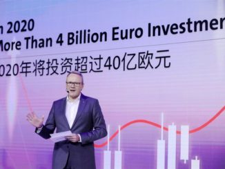 investimenti Volkswagen Group China