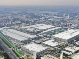 stabilimento SAIC Volkswagen