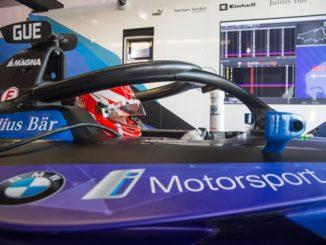 BMW iFE.20 di Formula E
