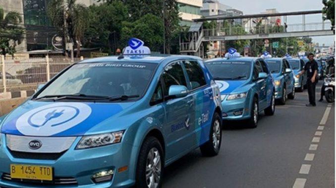 Van elettrici BYD Indonesia
