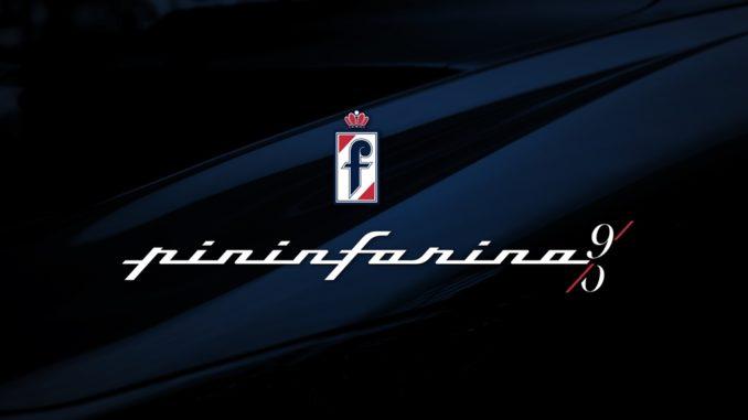 Logo Pininfarina 90 anni