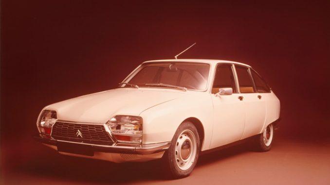 Citroën GS festeggia i suoi 50 anni