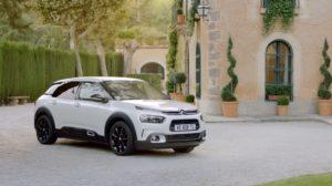 saga pubblicitaria per raccontare il comfort di Citroën