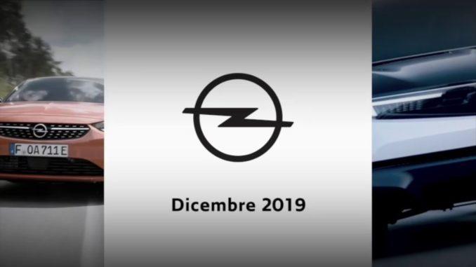 Opel dicembre 2019