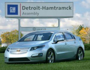Chevrolet Volt Detroit Hamtramck
