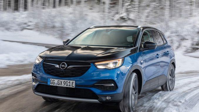 Opel Grandland X Hybrid4 plug-in