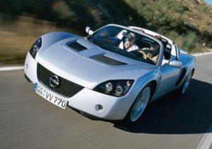Storia Opel Speedster