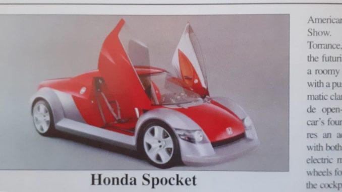 storia concept Honda Spocket