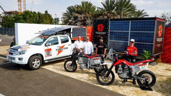 Dakar elettrica