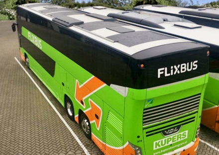 FlixBus pannelli solari