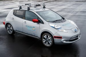 Nissan Leaf HumanDrive