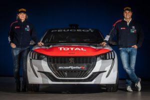 Nuova Peugeot 208 Rally4