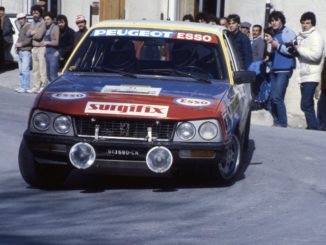 Peugeot 505 Turbodiesel Rally
