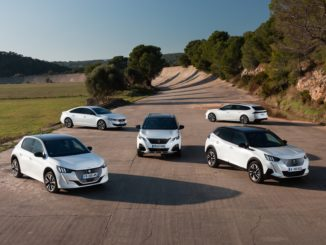 gamma elettrificata Peugeot