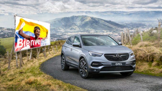 Opel Ecuador Colombia