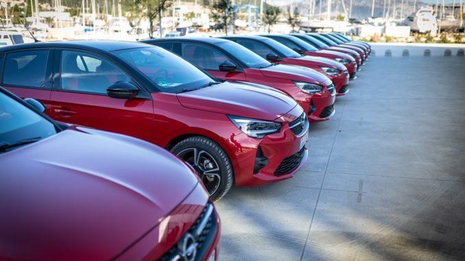 Opel Italia gennaio 2020