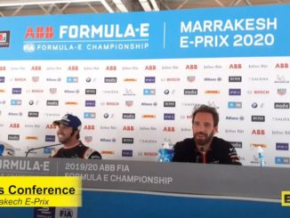 press conference Marrakesh E-Prix
