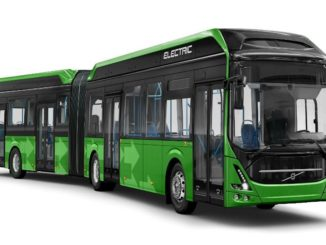 Volvo electric bus Malmo