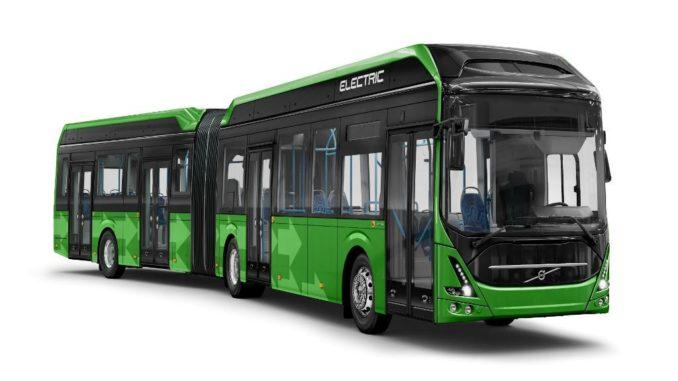 Volvo electric bus Malmo