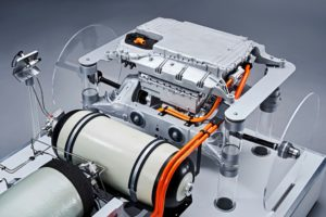 Il propulsore a fuel cell per la BMW i Hydrogen Next