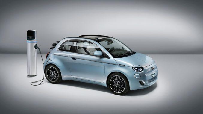 Nuova Fiat 500 a trazione elettrica