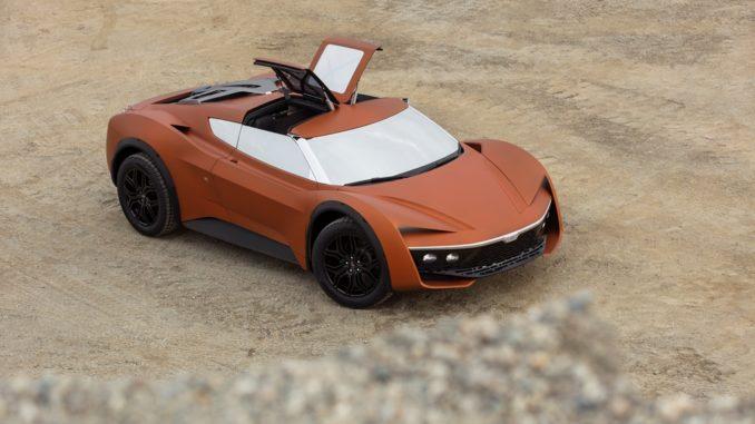 concept Vision 2030 Desert Raid di GFG Style