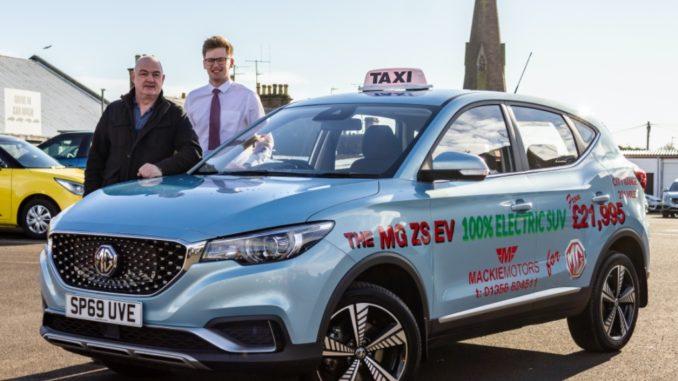 MG Tayport Taxi