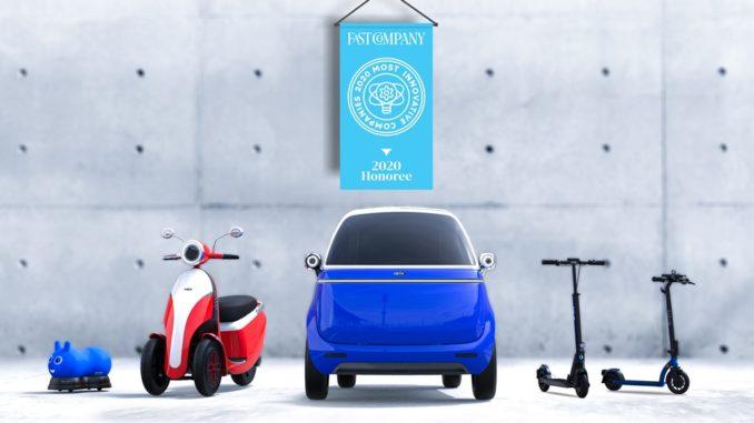 Micro Mobility premiata