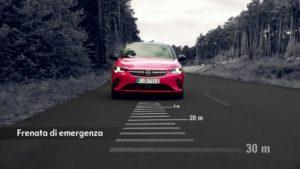 tecnologie di sicurezza di Nuova Opel Corsa