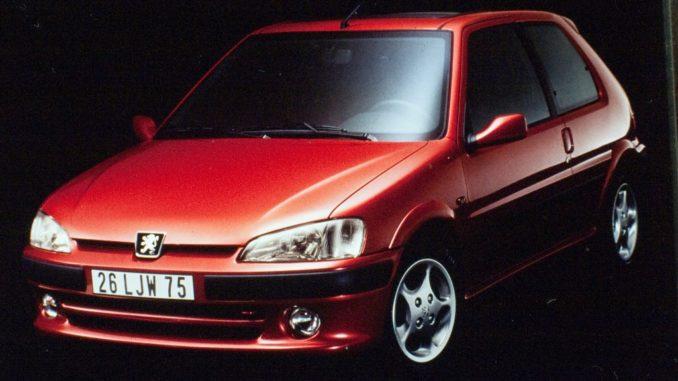 Peugeot 106 GTI sedici valvole