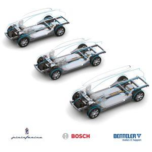 Pininfarina, Bosch e Benteler