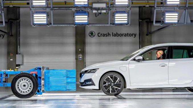 centro di ricerca sui crash test di Škoda Auto