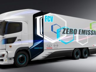 Toyota Hino camion fuel cell