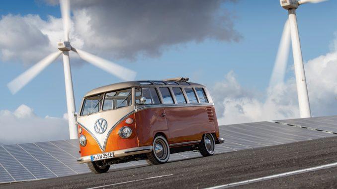 concept Volkswagen e-BULLI