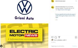 Grioni Auto diretta Instagram