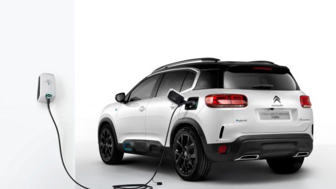 Nuovo SUV Citroën C5 Aircross Hybrid