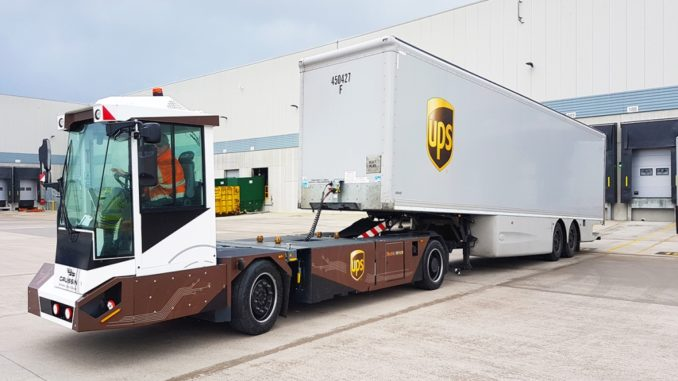 UPS Gaussin