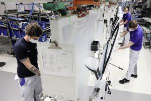 Volkswagen pronta per avviare la ripresa graduale della produzione