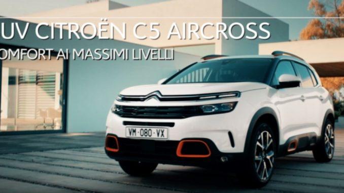 comfort SUV Citroën C5 Aircross